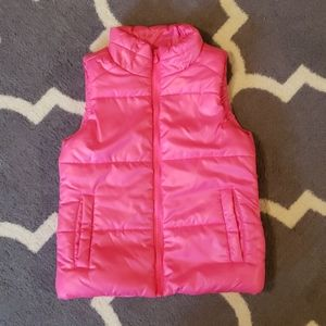 Girls Justice puffer vest - size 8/10